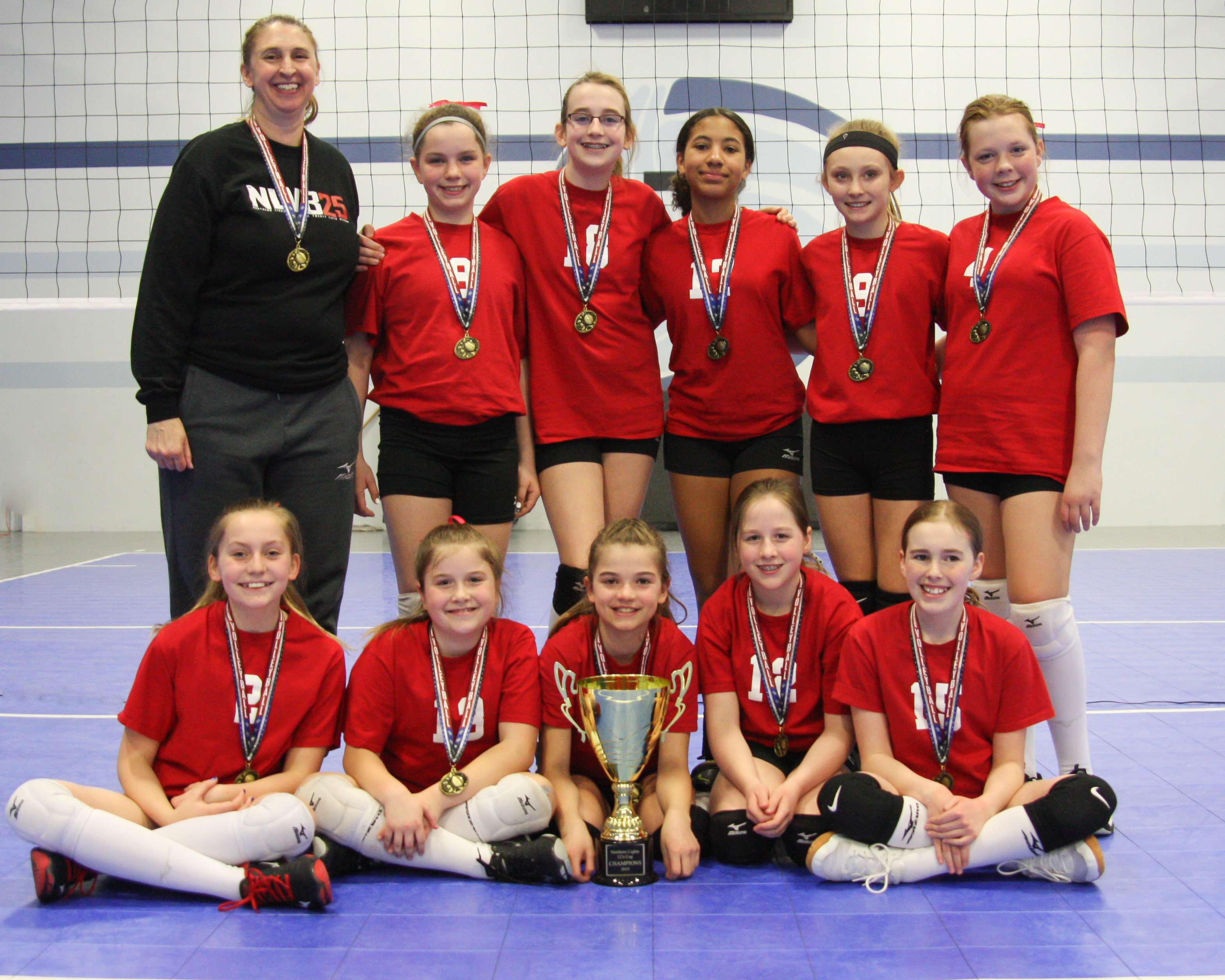 The 12s Cup Results 2019 Northern Lights Junior Volleyball