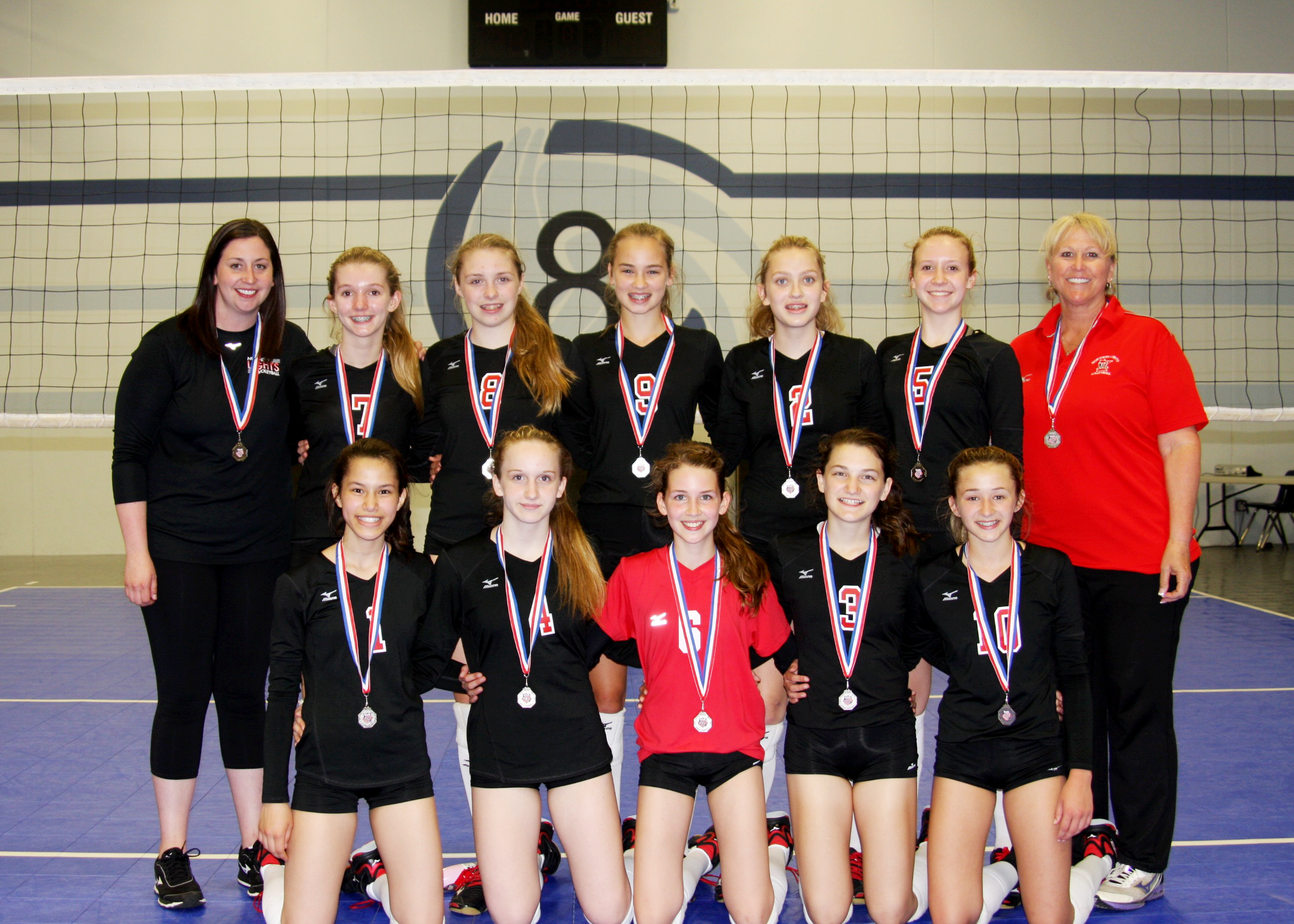 131 2nd Place At 2018 Aau Super Regional Northern Lights Junior Volleyball